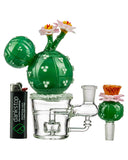 Empire Glassworks Peyote Cactus Water Pipe