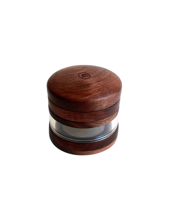 Marley Natural Large Wooden Grinder Jar