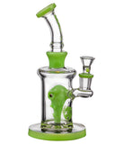 Icon Glass Alien Head Perc Water Pipe - Right View
