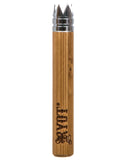 bamboo wooden digger bat, short size, branded by RYOT