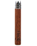 rosewood taster bat with digger tip, branded with RYOT logo