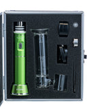 The Kind Pen Storm E-Nail Bubbler - Green Shown in Protective Case Included