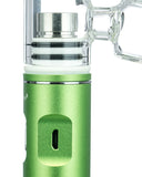 The Kind Pen Storm E-Nail Bubbler - Green Showing Close Up of Charging Port
