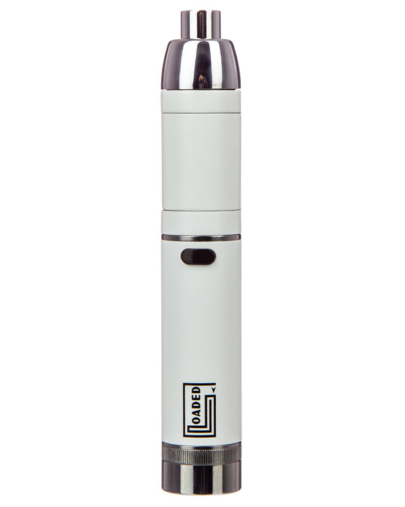 Yocan Loaded Vape Kit - White Front View