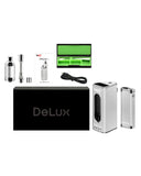 Yocan DeLux Vaporizer - Shown with all Accessories with Box