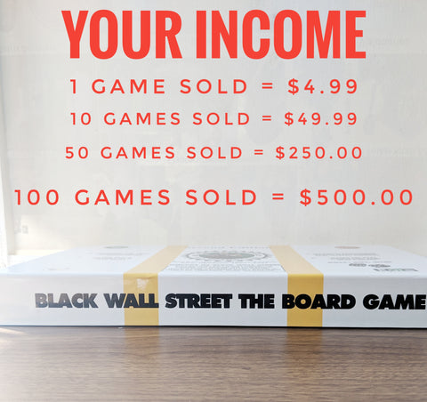 Fundraising with Play Black Wall Street