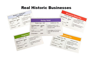 Black Wall Street The Board Game Business Cards