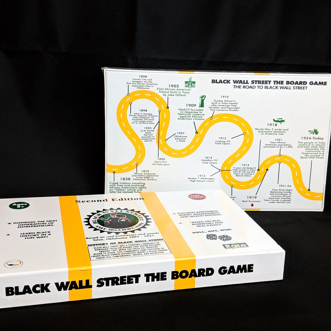 Black Wall Street The Board Game Second Edition