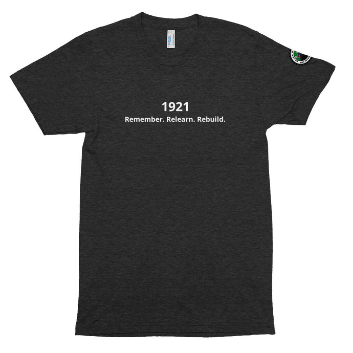 1921 We Will Rebuild Tri-Blend T Shirt