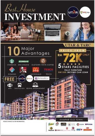 Wow starting price from RM72k, You can get a Unit !!!