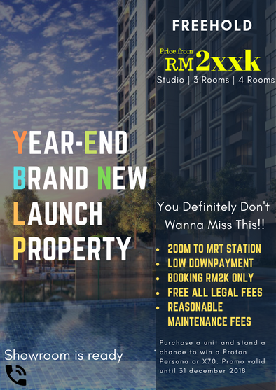 Property@Bandar Tun Hussein Onn (Price From 2xxk, 1 to 4 Rooms)