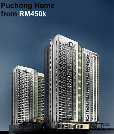 Living at Puchong with Japanese Developer Design