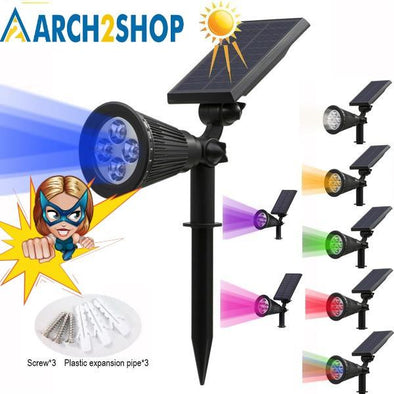 Solar Spotlight Outdoor Garden