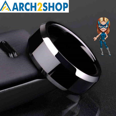 Ring Men Titanium Black - arch2shop.com