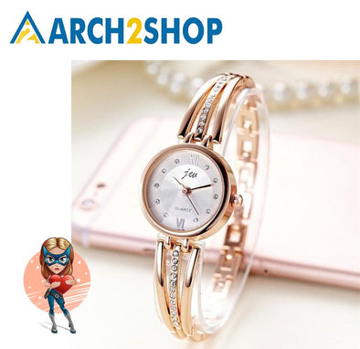 Women Rhinestone Watches Ladies Quartz Dress Watches - arch2shop.com