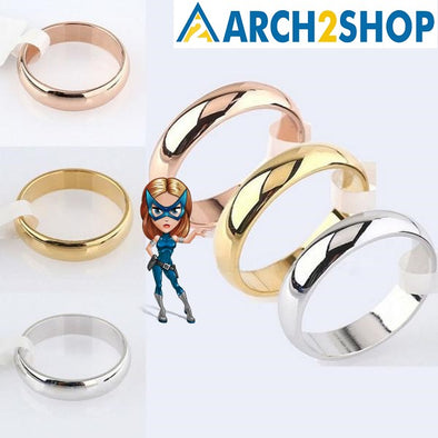 Latest Fashion Fortunately Polished Stainless Steel Rings - arch2shop.com
