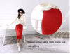 Sexy Chic Pencil Skirts Women Skirt Wool Rib Knit Long Skirt - arch2shop.com