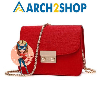 Small Women Bags PU leather Messenger Bag Clutch Bags - arch2shop.com