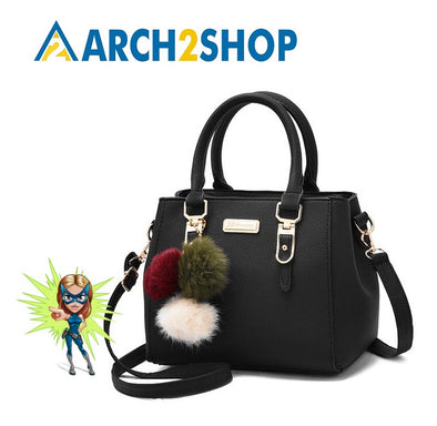 Solid sequined handbag purse ladies messenger crossbody shoulder bags - arch2shop.com