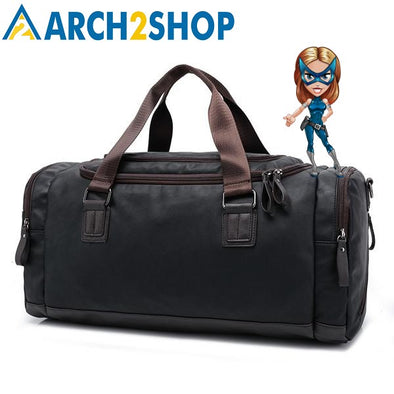 Men handbag Large capacity Travel bag fashion shoulder handbags - arch2shop.com
