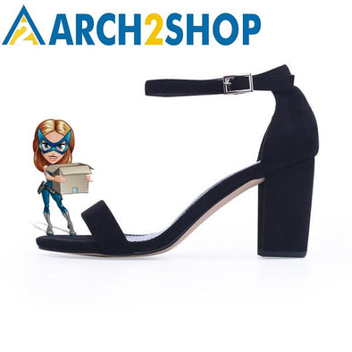 Ankle Strap Heels Women Sandals Summer Shoes - arch2shop.com
