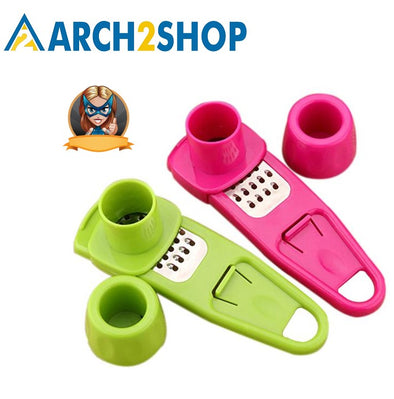 14*4cm MultiFunctional Ginger Garlic Grinding Cooking Tool Kitchen - arch2shop.com