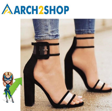Women Summer Shoes T-stage Fashion High Heel Sandals - arch2shop.com