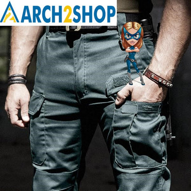 2018 New IX5 tactical pants men's Cargo casual Pants - arch2shop.com