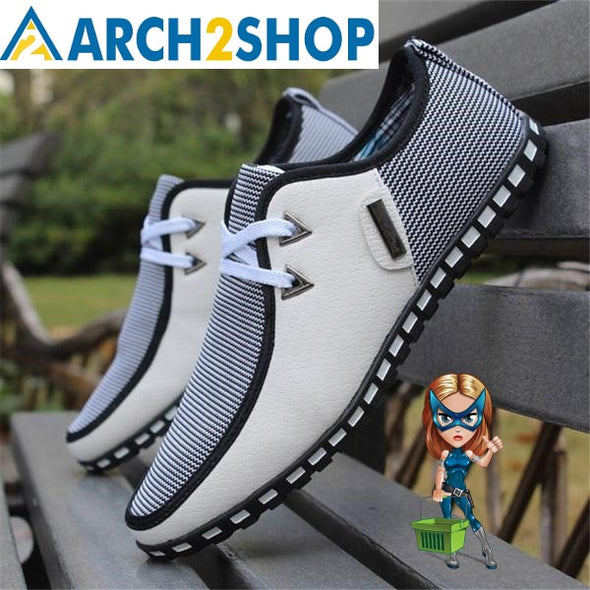 Fashion Driving Shoes Men Casual Shoes - arch2shop.com