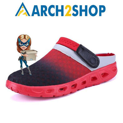 Men Summer Sandals Breathable Mesh Sandal Summer Beach mens Shoes - arch2shop.com