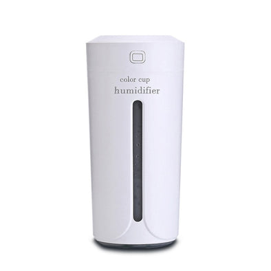 Ultrasonic Air Humidifier With 7 Color Lights Electric Aromatherapy