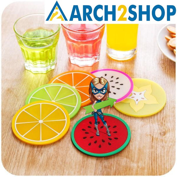 Fresh Fruit Coaster Novelty placement For Mugs - arch2shop.com
