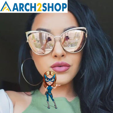 Cat Eye Sunglasses For Women - arch2shop.com