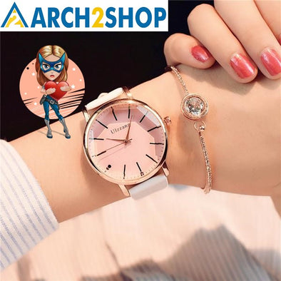 Polygonal dial design women watches - arch2shop.com
