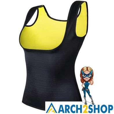 New Body Shaper Tank Top Shirt Women Neoprene - arch2shop.com