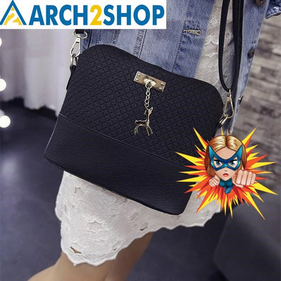 2018 Women Shoulder Bags Fashion Mini Bag With Deer Toy Shell Shape - arch2shop.com