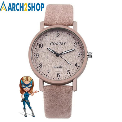 Women's Watches Fashion Leather Wrist - arch2shop.com