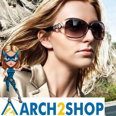 Classic Vintage Polarized Sunglasses For Women - arch2shop.com