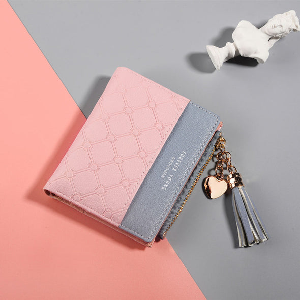 2018 New Women's Cute Fashion Purse Leather Long Zip Wallet Clutch - arch2shop.com