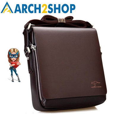 Men's messenger bag Vintage leather shoulder bag crossbody bag