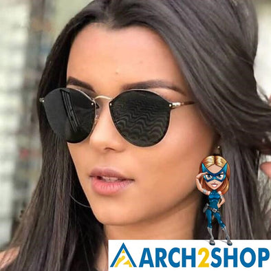 Round Sunglasses For Women - arch2shop.com