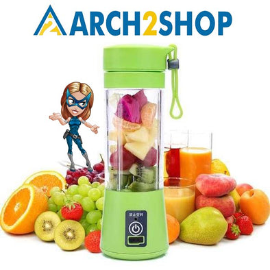 Portable Juicer Citrus Cup USB Rechargeable Milkshake Smoothie Squeezers - arch2shop.com