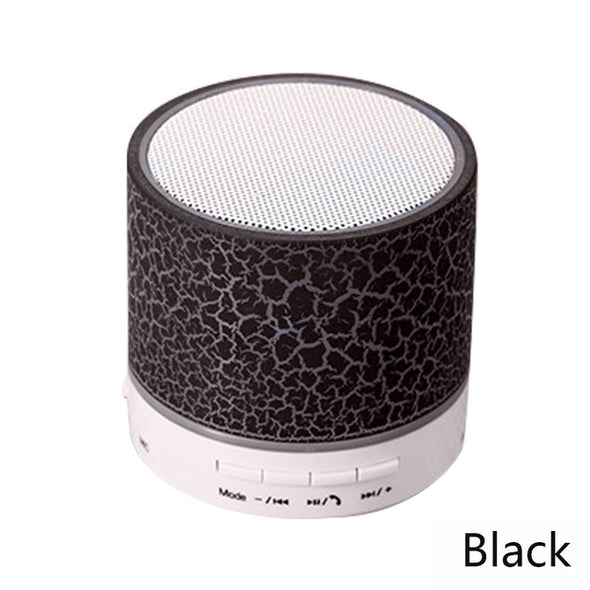 Column LED Mini Wireless Bluetooth Speaker TF USB Portable - arch2shop.com