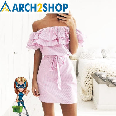 2018 Summer Sundresses Beach Casual Shirt Short Mini Party Dresses - arch2shop.com