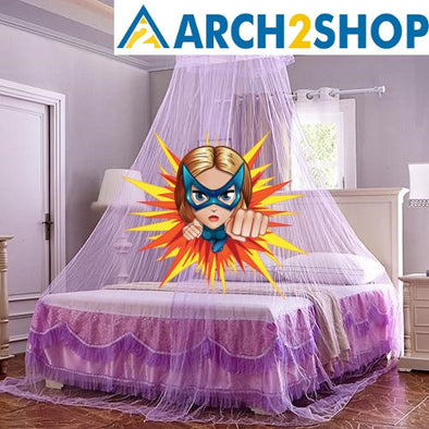 Mosquito Nets For Summer Polyester Mesh Fabric - arch2shop.com