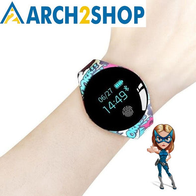 Color Touch Screen Smartwatch Motion detection Smart Watch IOS Android