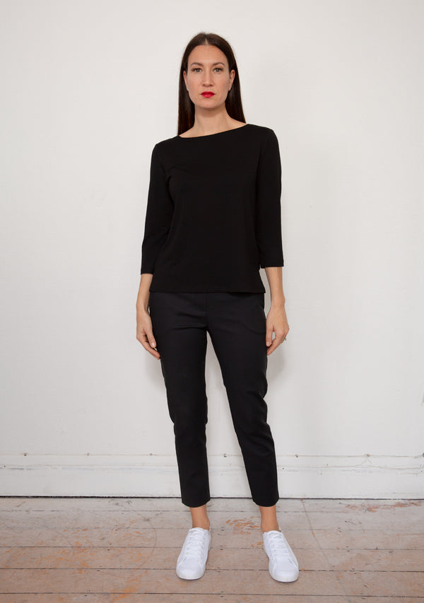 FRENCH BOATNECK TOP