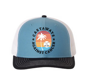 Castaways Adjustable Trucker Snapback Hat