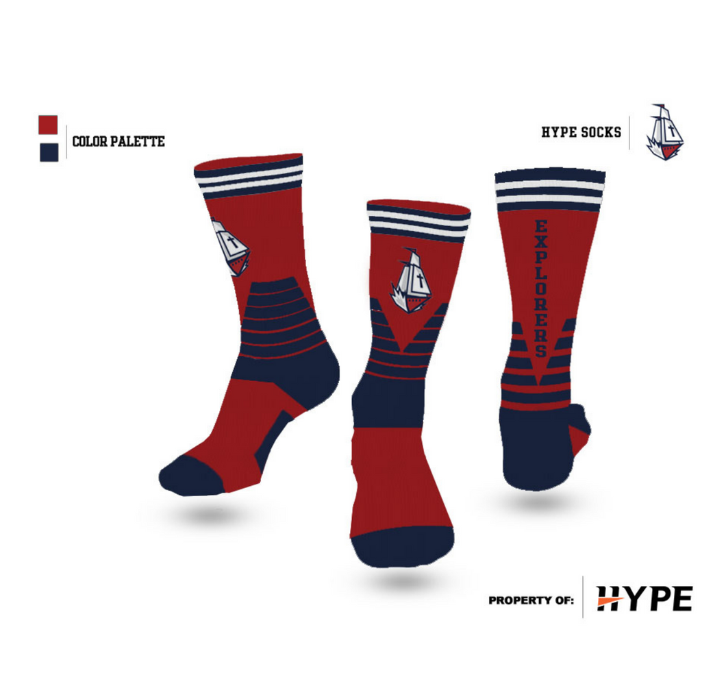 Ship New 2020 Crew Socks - HYPE Brand