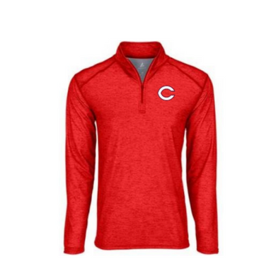 Qtr Zip Pullover 2021 C (Red)